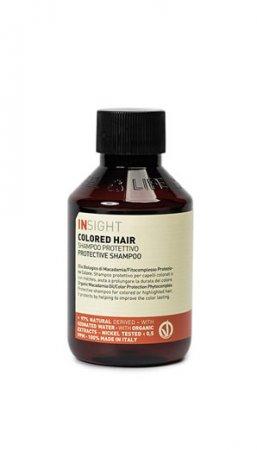 InSight Colored Hair, szampon do włosów farbowanych, 100ml
