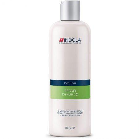 Indola Repair, regeneracyjny szampon do włosów zniszczonych, 300ml
