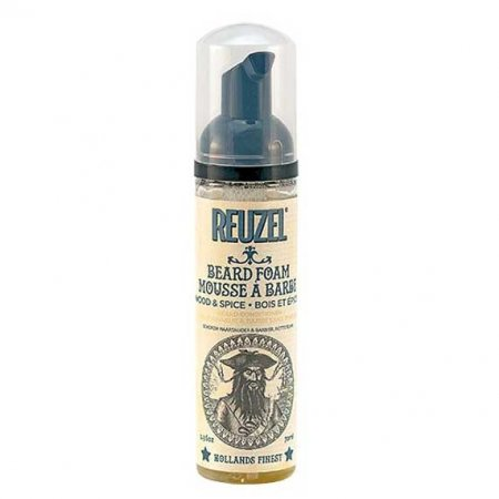 Reuzel, Beard Foam, odżywka do brody w piance, Wood&Spice, 70ml