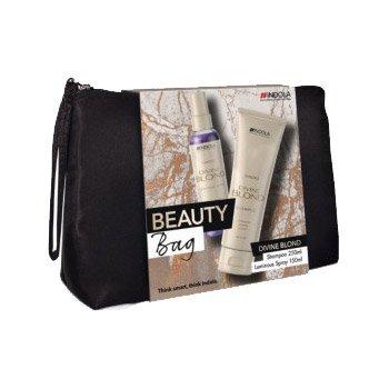 Indola Divine Blond, zestaw kosmetyków w kosmetyczce, 250ml+150ml