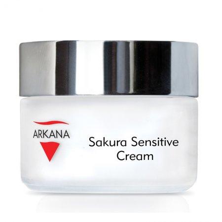 Arkana Sakura, terapeutyczny krem dla skóry naczyniowej i wrażliwej, 50ml