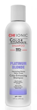 CHI Color Illuminate, szampon do włosów Platinum Blonde, 355ml