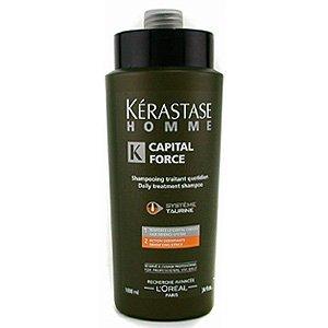 Kerastase Homme, szampon, kąpiel zagęszczająca włosy, dla mężczyzn, 1000ml