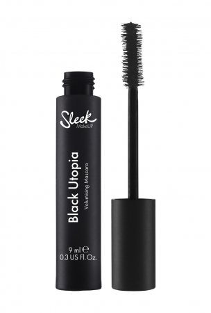 Sleek Makeup Black Utopia Mascara, tusz do rzęs pogrubiający, 9ml
