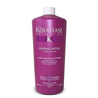 Kerastase Reflection Lait Chroma Captive, rozświetlające mleczko chroniące kolor włosów farbowanych, 1000ml