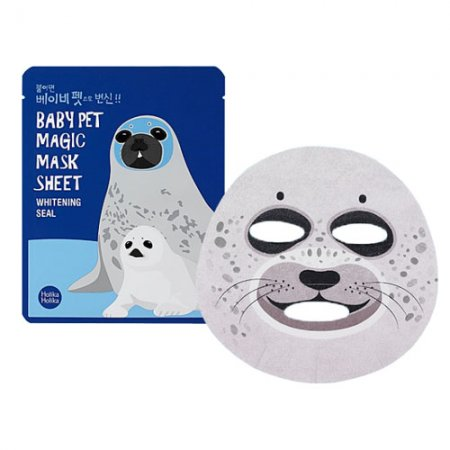 Holika Holika Baby Pet Magic Seal, maska zwierzęca - foka