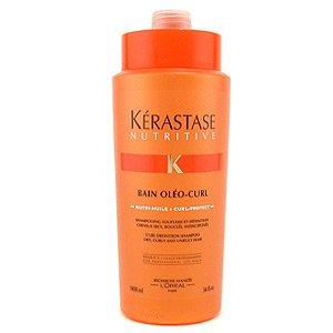 Kerastase Nutritive Bain Oleo-Curl, szampon, kąpiel do włosów kręconych, 1000ml