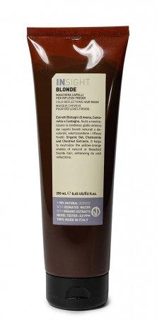InSight Blonde, maska do włosów z chłodnymi odcieniami, 250ml
