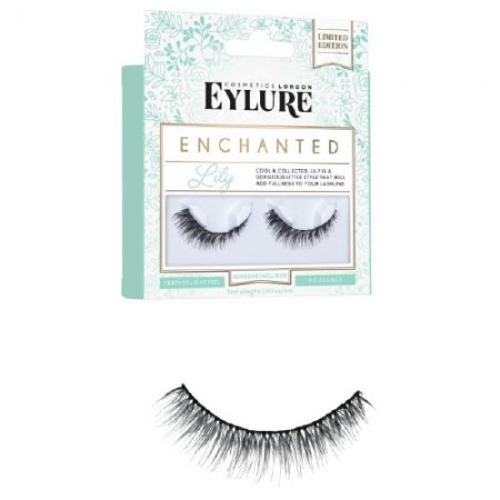 Eylure Enchanted, sztuczne rzęsy z klejem, Lily