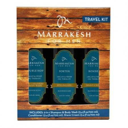 Marrakesh, zestaw Travel Set Men, 3x100ml