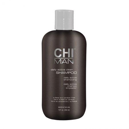 CHI Man Daily Active Clean Shampoo, szampon do włosów dla mężczyzn, 355ml