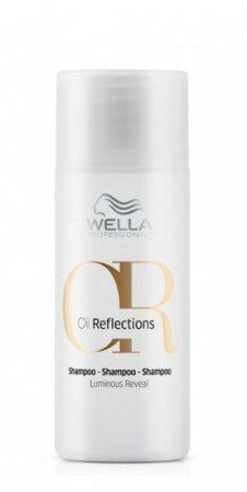 Wella Oil Reflections, szampon przywracający włosom blask, 50ml