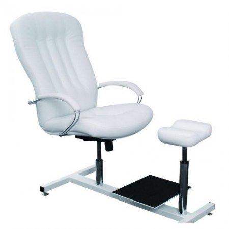Fotel pedicure Ayala Portos de Lux w zestawie z podnóżkiem