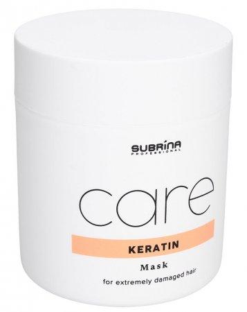 Subrina Keratin Care, maska do włosów silnie zniszczonych, 500ml
