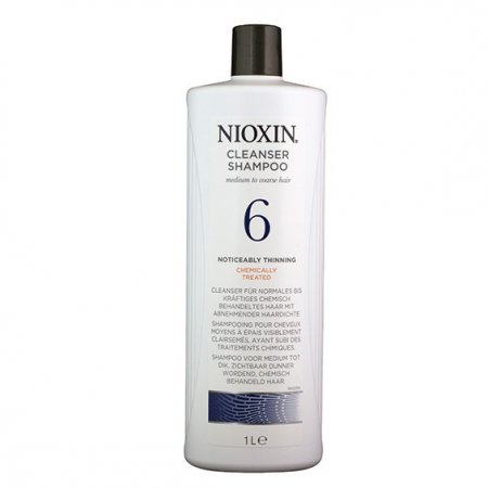 Nioxin System 6, szampon oczyszczający, 1000ml