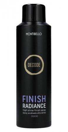 Montibello Decode, spray nabłyszczający Finish Radiance, 200ml