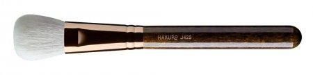 Hakuro J425, pędzel do pudru, różu i bronzera, ciemnobrązowy