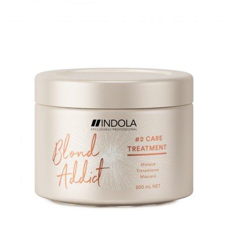 Indola Blond Addict, maska do włosów blond, 200ml