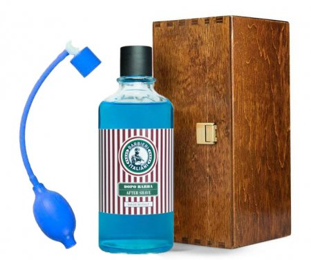 Barbieri Italiani, lotion po goleniu w szkatułce, aquamarine, 400ml