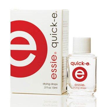 Essie Quick-E, kropelki wysuszające lakier, 15ml