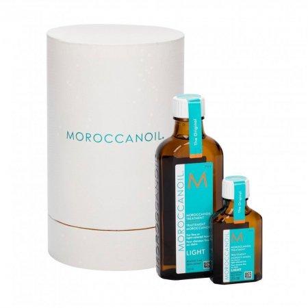 Moroccanoil Treatment Light, naturalny olejek arganowy, zestaw 100ml + 25ml