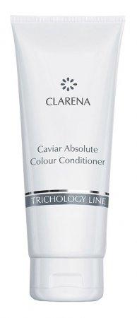 Clarena Trichology Line, odżywka do włosów farbowanych z kawiorem, 200ml