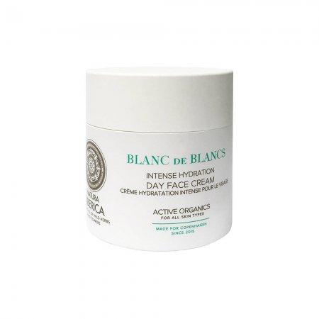 Natura Siberica Blanc de Blancs, intensywnie nawilżający krem do twarzy na dzień, 50ml