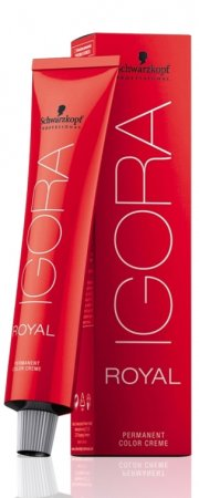 Profesjonalna farba do włosów Schwarzkopf Igora Royal, 8-77, 60ml - uszkodzone opakowanie