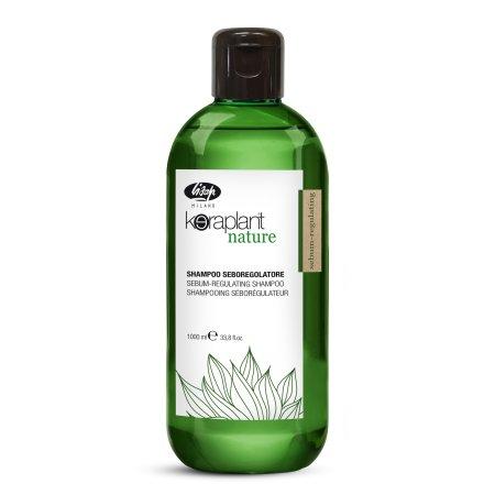 Lisap Keraplant Nature, Regulacja sebum, szampon, 1000ml