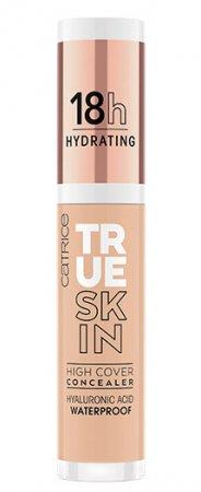 Catrice True Skin High Cover, nawilżający korektor mocno kryjący, Warm Beige 020, 4,5ml