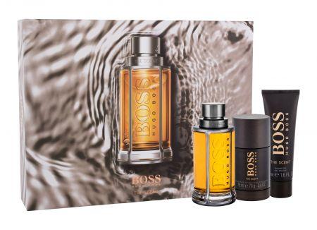 Hugo Boss The Scent, zestaw: Edt 100ml + 50ml Żel pod prysznic + 75ml Deostick (M)