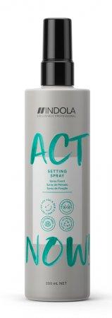 Indola Act Now!, wegański spray przygotowujący włosy do stylizacji, 200ml