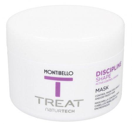 Montibello Treat Naturtech, maska do włosów puszących się Discipline Shape, 200ml