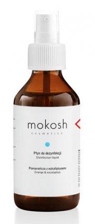 Mokosh, płyn antybakteryjny, pomarańcza z eukaliptusem, 100ml