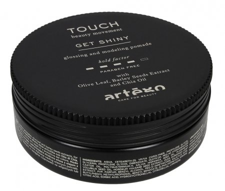 Artego Touch Get Shiny, wosk nabłyszczający, 100ml