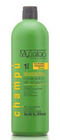 My Salon Professional Argan, regenerujący szampon z olejkami, 1000ml
