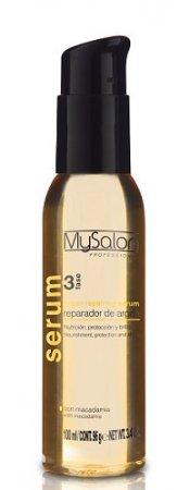 My Salon Professional Argan, serum regenerujące z olejkami i keratyną, 100ml