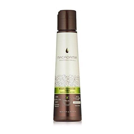 Macadamia Professional Weightless Moisture, nawilżający szampon do włosów cienkich, 100ml