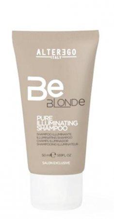 Alter Ego Be Blonde, szampon rozświetlający do włosów blond, 50ml