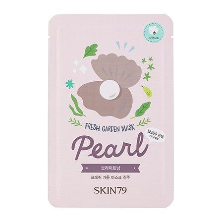 SKIN79, Fresh Garden - Pearl, maska w płacie z wodą z perłą, 23g