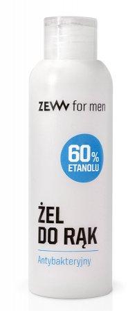 ZEW for Men, antybakteryjny żel do rąk, 100ml