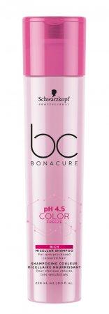 Schwarzkopf BC Color Freeze pH 4.5, szampon micelarny do włosów farbowanych, 250ml