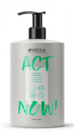 Indola Act Now!, wegański szampon regenerujący, 1000ml