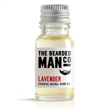 Bearded Man Lavender, olejek do brody Lawenda, 10ml