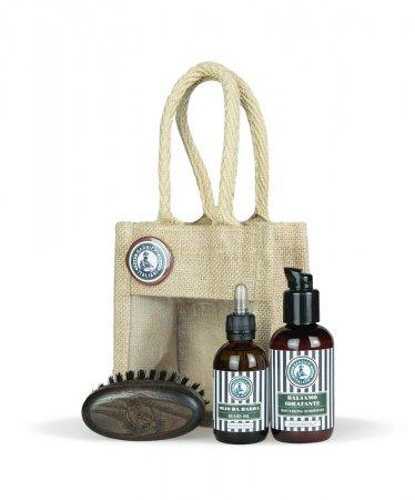 Barbieri Italiani, zestaw kosmetyków + kartacz w torbie