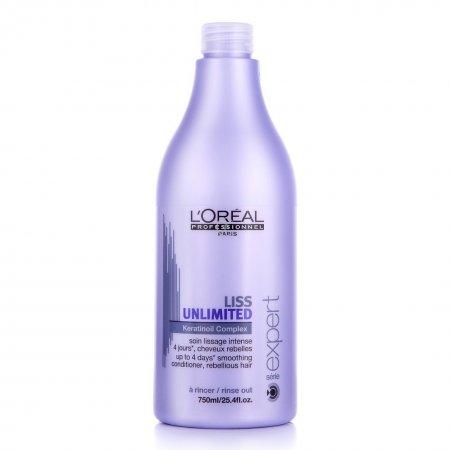Loreal Liss Unlimited, odżywka wygładzająca, 1000ml