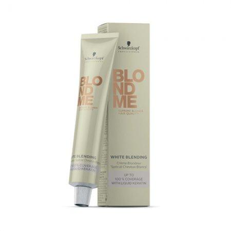 Schwarzkopf BlondMe, krem tuszujący siwe i białe włosy, 60ml