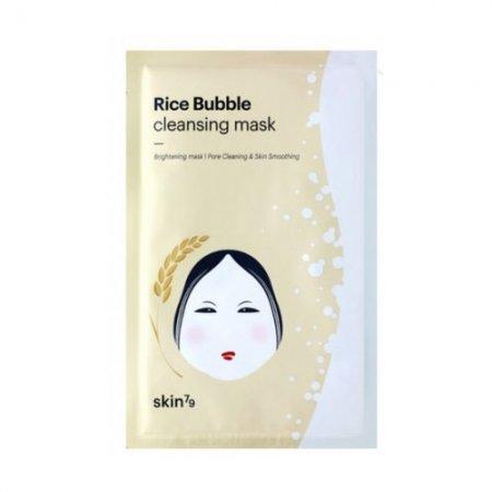 Skin79 Mask, Rice Bubble Cleansing Mask, oczyszczająca maseczka ryżowa, 23ml