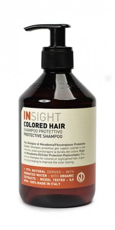 InSight Colored Hair, szampon do włosów farbowanych, 400ml