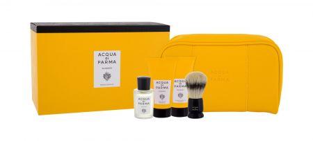 Acqua di Parma Colonia, zestaw: Edc 20 ml + Krem do golenia 40 ml + Balsam po goleniu 40 ml + Pędzel do golenia 1 szt + Kosmetyczka (U)